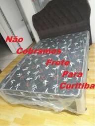 Cama box casal espuma - Não cobramos frete para Curitiba - Novo