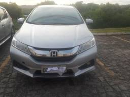 Honda City banco de couro de fábrica cometo top da categoria cel - 2015