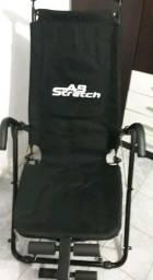 Cadeira abdominal com acessórios