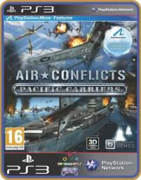 Título do anúncio: Ps3 Air conflicts pacific carriers