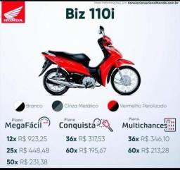 Biz 110 modelo 2020 Vermelha - 2020