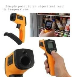Medidor de temperatura mira a laser infravermelho - entrega gratis