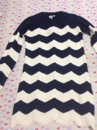 Vestido tricô marca Quintess