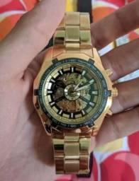 Relógio mecânico Winner automático