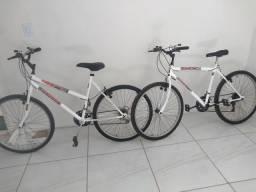 2 bicicleta aro 26 tamanho grande perfeita pra uso aceito cartão divido