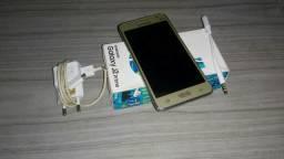 Samsung J2 Prime Dourado Semi novo 16GB , Preço a negociar, aceito trocas também