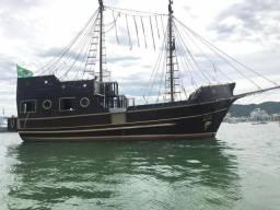 Barco escuna - 1993