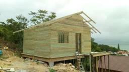 Kit casas de madeiras pré fabricadas: