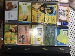 Somente colecionadores - cartões telefônicos
