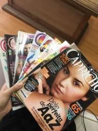Doação revistas Capricho
