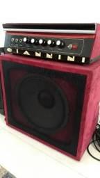 Amplificador Cabeçote Giannini - Relíquia dos anos 70