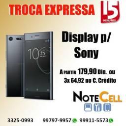 Telas Para Sony Z1 Z3 Z4 Z5 XA a partir de 179,90 Já instalada e com garantia de 3 Meses!