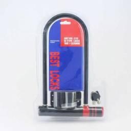 (FRETE GRÁTIS) Trava / Tranca U - Best Lock Motos Bicicletas Anti-furto 99864-4141
