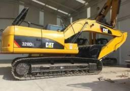 Escavadeira Cat Komatsu case JCB