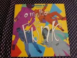 Discos de vinil o melhor do funk e house
