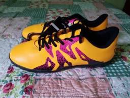 0f60e8b592 Chuteira Society Adidas X 15.4 tamanho 35