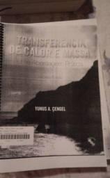 Livro Transferencia de calo e Massa - Autor Çengel