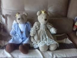 Ursa kikinha princesa bege da marca Sílvia Polito