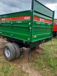 Carreta para trator agrícola
