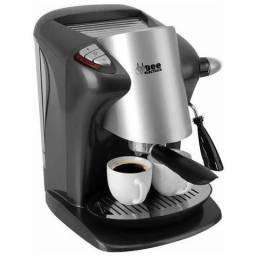 (nova lacrada) Cafeteira expresso inox