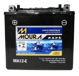Bateria Moura Ma12-E    ( Moto )