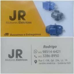 JR  tanquinho de lavar, motores elétricos e Bombas centrífugas