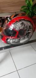 Vendo capacete peels novo