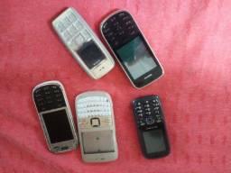Celular Nokia carcaça boa por 30
