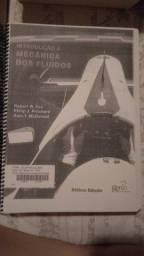Livro Introdução à mecanica dos fluidos