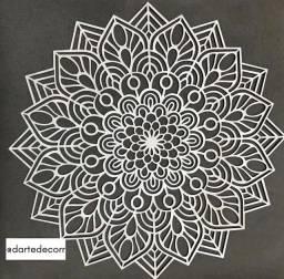 Mandala flor linda