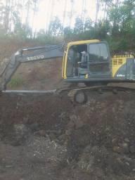 Escavadeira hidráulica EC140 BLC