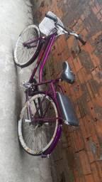 Verona roxa com freio hidráulico