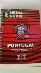 Copa Do Mundo 2014 - Guia Seleção De Portugal Presskit -original