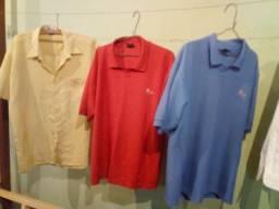 Lote de camisas masculinas
