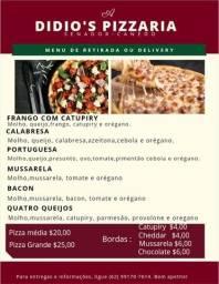 pizza por 25 reais
