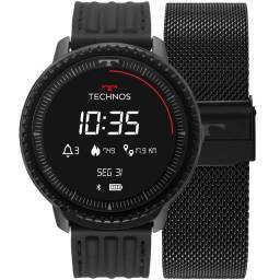 Relógio Smartwatch Technos Connect ID Unissex Com Entrega Grátis Em Fortaleza-CE