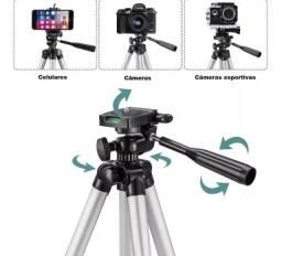 Título do anúncio: Tripé Profissional para Câmera e Celular até 1,80m