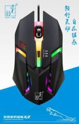 Mouse Gamer RGB K2 Original Fio Fotoelétrico Logitech (Novo)