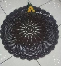 Tapete de crochê ( obs a descrição a abaixo