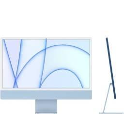 Título do anúncio: iMac 24 M1/8GPU/8CPU/256 ssd - azul novo