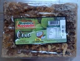 Rapadura Tradicional 500 Gramas Coco
