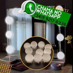 Título do anúncio:  Luminária Camarim 4,5M 10 Luzes Bivolt Usb * Fazemos Entregas