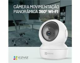 Título do anúncio: Camera Wi-fi  360° Ezviz SmartHome C6N 1080p WiFi 10m Até com Cartão 64GB instalada