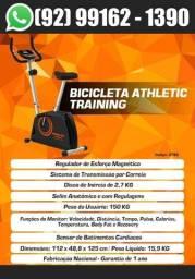 Título do anúncio: Bicicleta Ergometrica Magnética Premium Athletic  Training 2021 + Sensor de Pulso