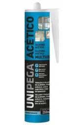 Título do anúncio: Silicone Acet. incolor 250ml - Unipega