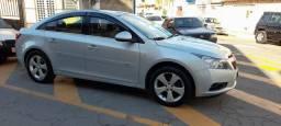 Cruze sedan 2012 LT 1.8 automatico com GNV injetável, banco de couro