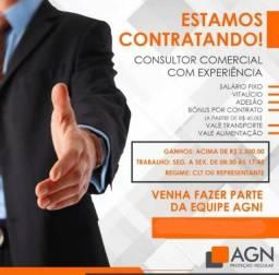 Título do anúncio: Vaga Consultor Proteção veicular