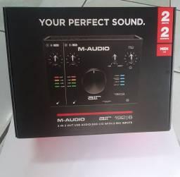 interface de áudio M-Audio Air 192/6