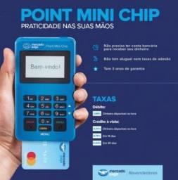 Título do anúncio: Maquina de cartão Mercado pago com Chip e dados gratis