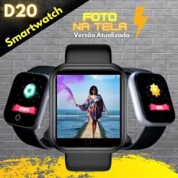 Título do anúncio: Promoção SmartWatch Relogio D20 Pro - Coloca Foto na tela